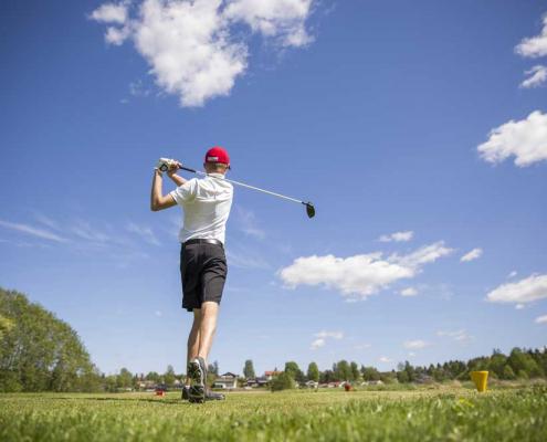 Foto fra Askim golfbane
