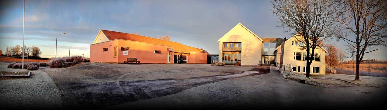 Foto av Moen skole i Askim