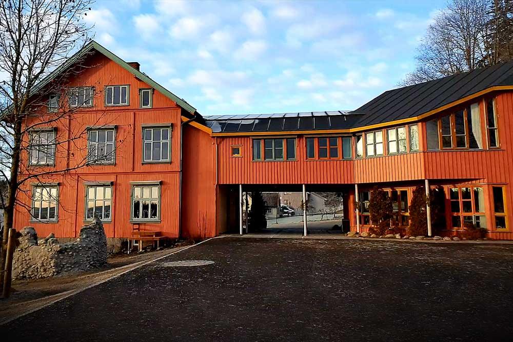 Foto av Steinerskolen i Indre Østfold