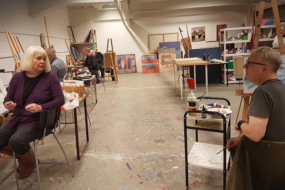 Foto av atelier